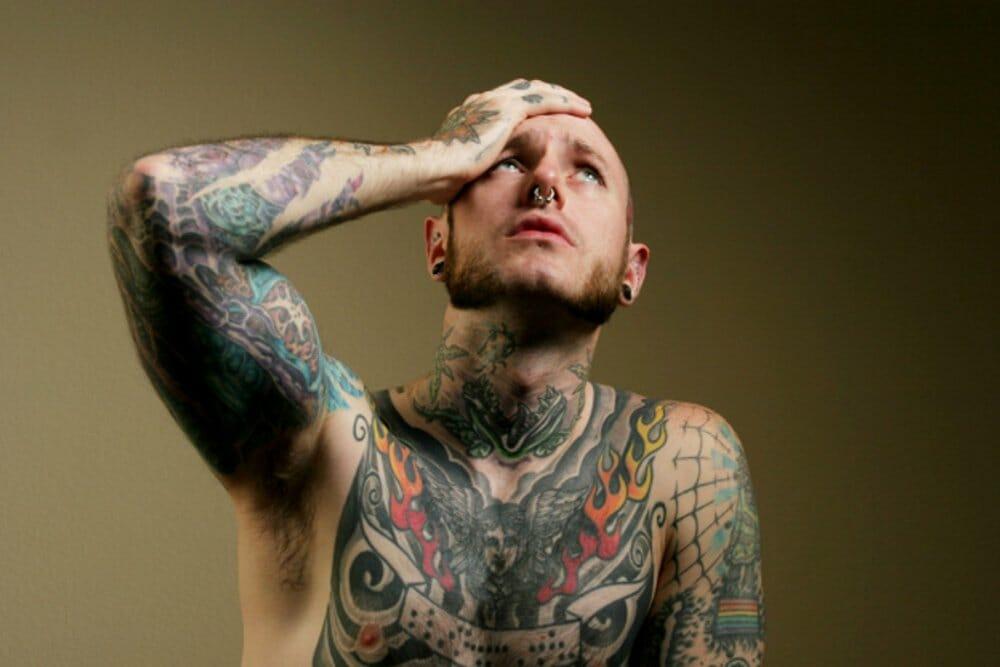 medo de remover uma tatuagem