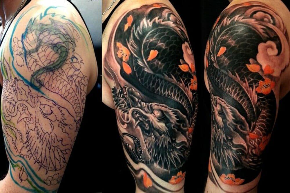 cover up alternativa para cobrir tatuagem
