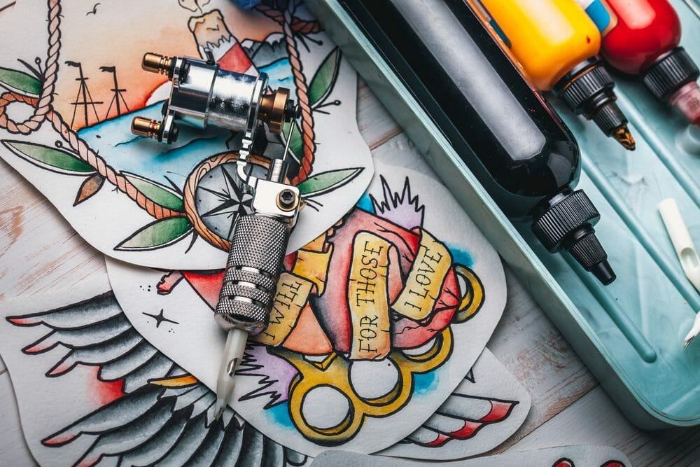 problemas com tinta de tatuagem