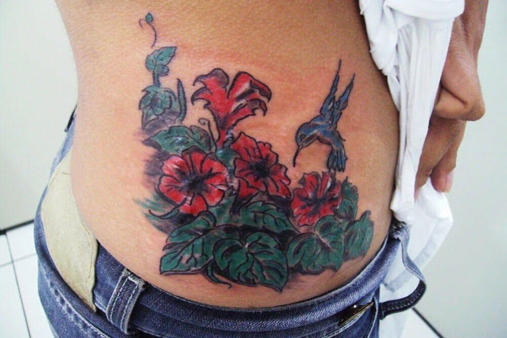 tatuagens cobrem estrias