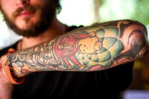 processo de cicatrização da tatuagem
